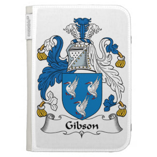 Gibson Family Crest Cases For Kindle