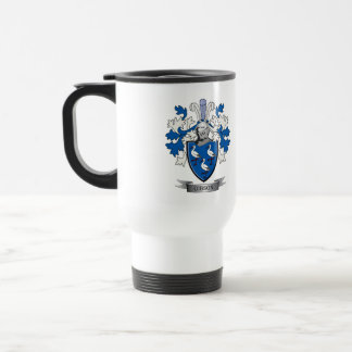 Gibson Family Crest Coat of Arms Travel Mug