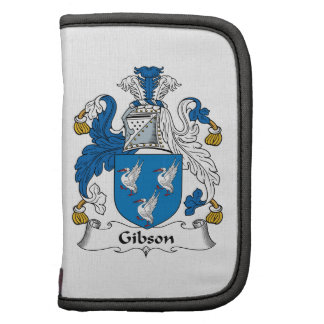 Gibson Family Crest Folio Planners