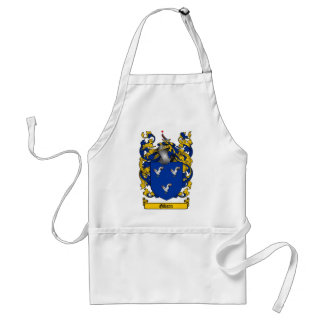 GIBSON FAMILY CREST -  GIBSON COAT OF ARMS ADULT APRON