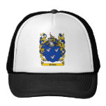 GIBSON FAMILY CREST -  GIBSON COAT OF ARMS TRUCKER HAT