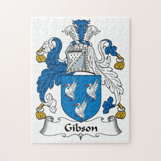 Gibson Family Crest Jigsaw Puzzle