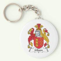Gibson Family Crest Keychain