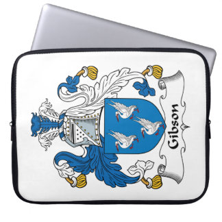 Gibson Family Crest Laptop Computer Sleeves