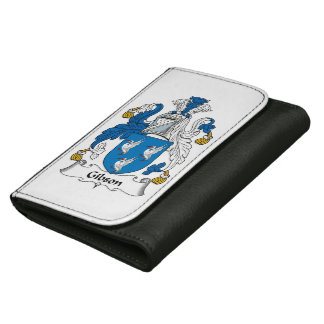Gibson Family Crest Leather Wallets