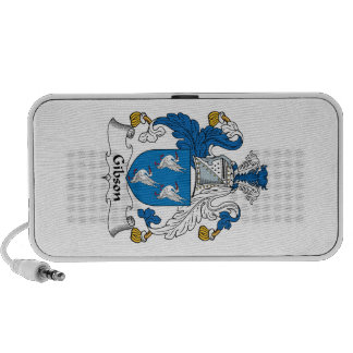Gibson Family Crest Mp3 Speakers
