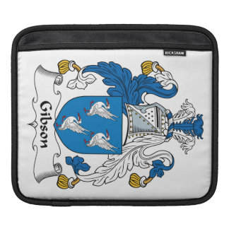 Gibson Family Crest Sleeve For iPads