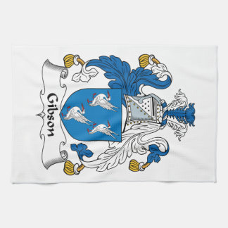 Gibson Family Crest Towels