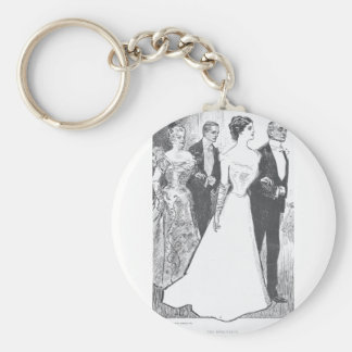 Gibson Girl-1 Keychain