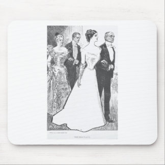 Gibson Girl-1 Mouse Pad