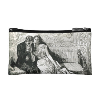 Gibson Girl and her Suitor Makeup Bag