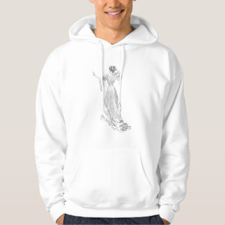 Gibson Girl With Mirror, 1903 Hoodie