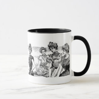Gibson Girls at the Beach Mug