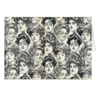 Gibson Girls by Charles Dana Gibson Circa 1902 Cards