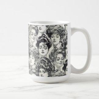 Gibson Girls by Charles Dana Gibson Circa 1902 Coffee Mug