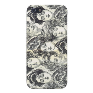 Gibson Girls by Charles Dana Gibson Circa 1902 Cover For iPhone SE/5/5s