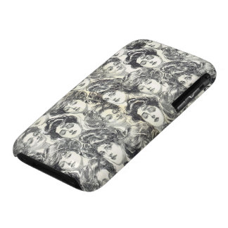 Gibson Girls by Charles Dana Gibson Circa 1902 iPhone 3 Case-Mate Case
