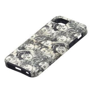 Gibson Girls by Charles Dana Gibson Circa 1902 iPhone SE/5/5s Case