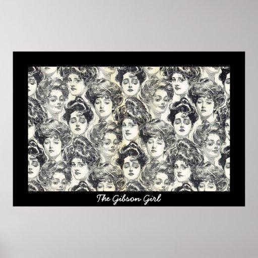 Gibson Girls by Charles Dana Gibson Circa 1902 Poster