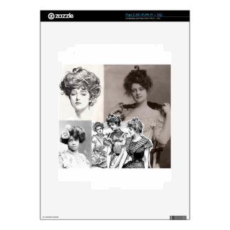 gibson girls decals for iPad 2