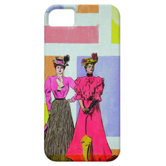 Gibson Girls in a Mondrian Pattern iPhone 5 Cover