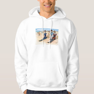 Gibson Girls On The Beach, 1900 Hoodie