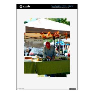 Gibson Hill Garlic iPad 3 Skin
