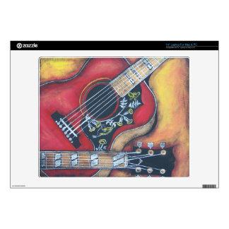 "Gibson Hummingbird Decals For 14"" Laptops"