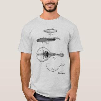 Gibson mandolin patent drawing T-shirt