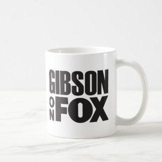 Gibson on FOX Coffee Mug