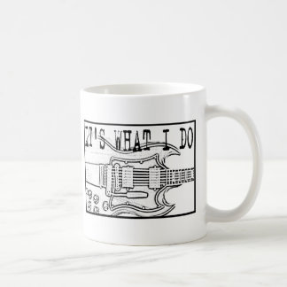 GIBSON SG-IT'SWHAT I DO COFFEE MUG