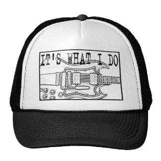 GIBSON SG-IT'SWHAT I DO TRUCKER HAT