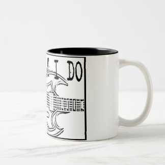 GIBSON SG-IT'SWHAT I DO Two-Tone COFFEE MUG