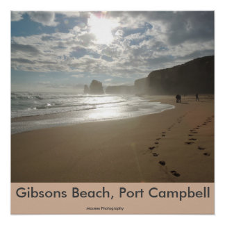 Gibsons Beach, Port Campbell Poster