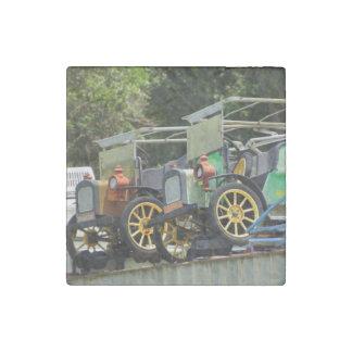 Gibtown Nostalgia Stone Magnet