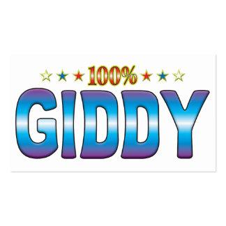 Giddy Star Tag v2 Business Card Templates