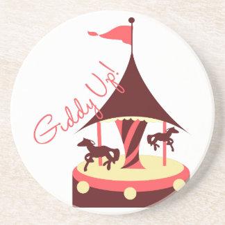 Giddy Up! Drink Coaster