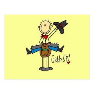 Giddy Up Cowboy Tshirts and gifts Postcard