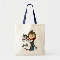 Giddy Up Cowboy Tshirts and Gifts Tote Bag