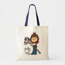 Giddy Up Cowboy Tshirts and Gifts Tote Bag