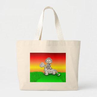 Giddy Up Dinosaur Tote Bag
