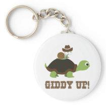 Giddy Up! Keychain