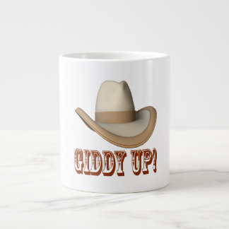 Giddy Up Large Coffee Mug