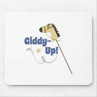 Giddy Up Mouse Pad