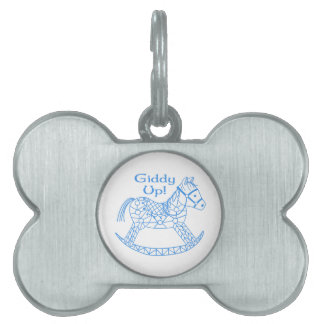 Giddy Up! Pet ID Tags