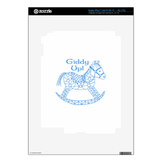 Giddy Up! Decals For iPad 3