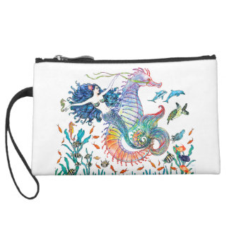 Giddy Yup ~ Mini CLuth ~ by Kat Wristlet