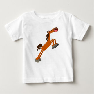 Giddyup, Horsey! Cartoon Horse Baby T-Shirt