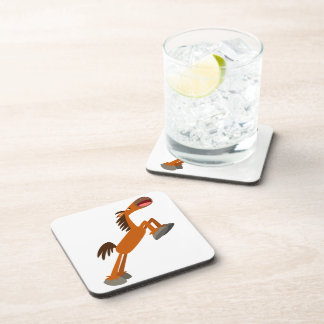 Giddyup, Horsey! Cartoon Horse Coasters Set