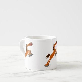 Giddyup, Horsey! Cartoon Horse Espresso Mug